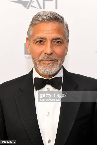 Honoree George Clooney attends the American Film Institute's 46th Life Achievement Award Gala Tribute to George Clooney at Dolby Theatre on June 7...