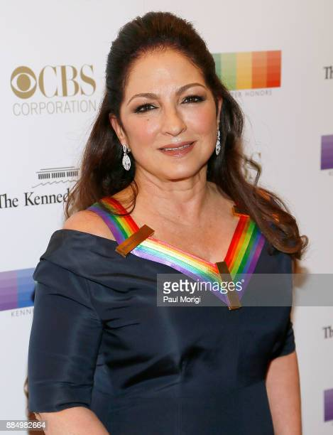 Honoree Gloria Estefan attends the 40th Kennedy Center Honors at the Kennedy Center on December 3 2017 in Washington DC