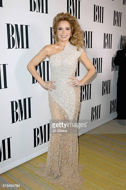 Honoree Gloria Trevi attends the 2016 BMI Latin Awards on March 2 2016 in Beverly Hills California