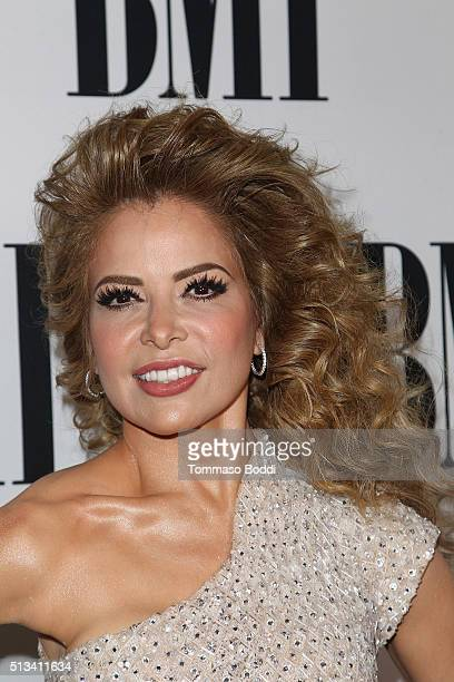 Honoree Gloria Trevi attends the 23rd Annual BMI Latin Awards at the Beverly Wilshire Four Seasons Hotel on March 2 2016 in Beverly Hills California