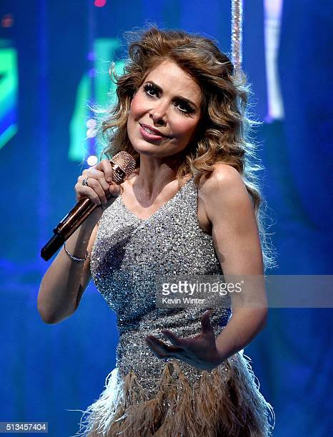 Honoree Gloria Trevi performs during the 23rd Annual BMI Latin Awards at the Beverly Wilshire Hotel on March 2 2016 in Beverly Hills California
