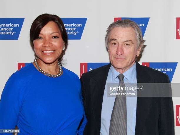 Honoree Grace Hightower De Niro and actor Robert De Niro attend the 2012 American Cancer Society's Mother Of The Year Award luncheon at The Plaza...