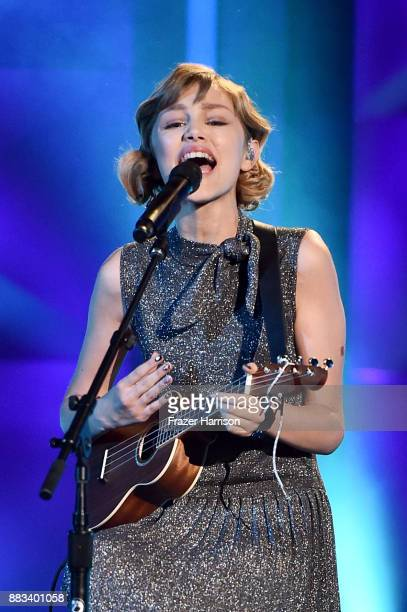 Honoree Grace VanderWaal performs onstage at Billboard Women In Music 2017 at The Ray Dolby Ballroom at Hollywood Highland Center on November 30 2017...