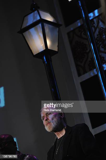 Honoree Gregg Allman at The 54th Annual GRAMMY Awards Special Merit Awards Ceremony And Nominee Reception at The Wilshire Ebell Theatre on February...