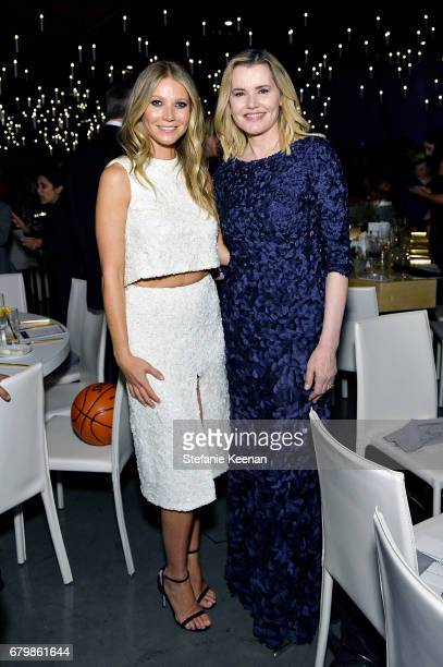 Honoree Gwyneth Paltrow and Geena Davis attend UCLA Mattel Children's Hospital presents Kaleidoscope 5 on May 6 2017 in Culver City California