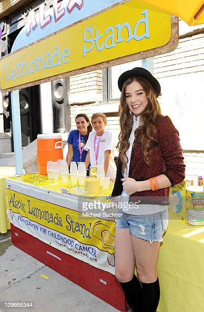 Honoree Hailee Steinfeld attends Variety's 5th annual Power Of Youth event presented by The Hub at Paramount Studios on October 22 2011 in Hollywood...