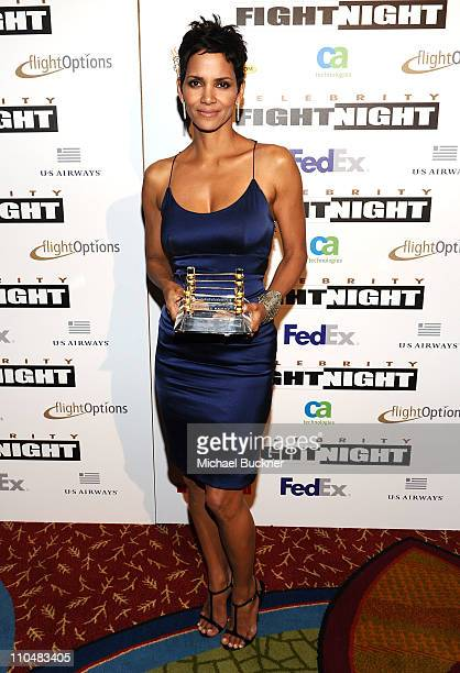 Honoree Halle Berry attends Muhammad Ali's Celebrity Fight Night XVII at JW Marriot Desert Ridge Resort Spa on March 19 2011 in Phoenix Arizona