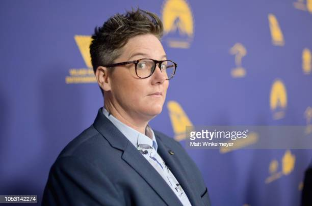 Honoree Hannah Gadsby attends the 7th Annual Australians in Film Awards Gala at Paramount Studios on October 24 2018 in Los Angeles California