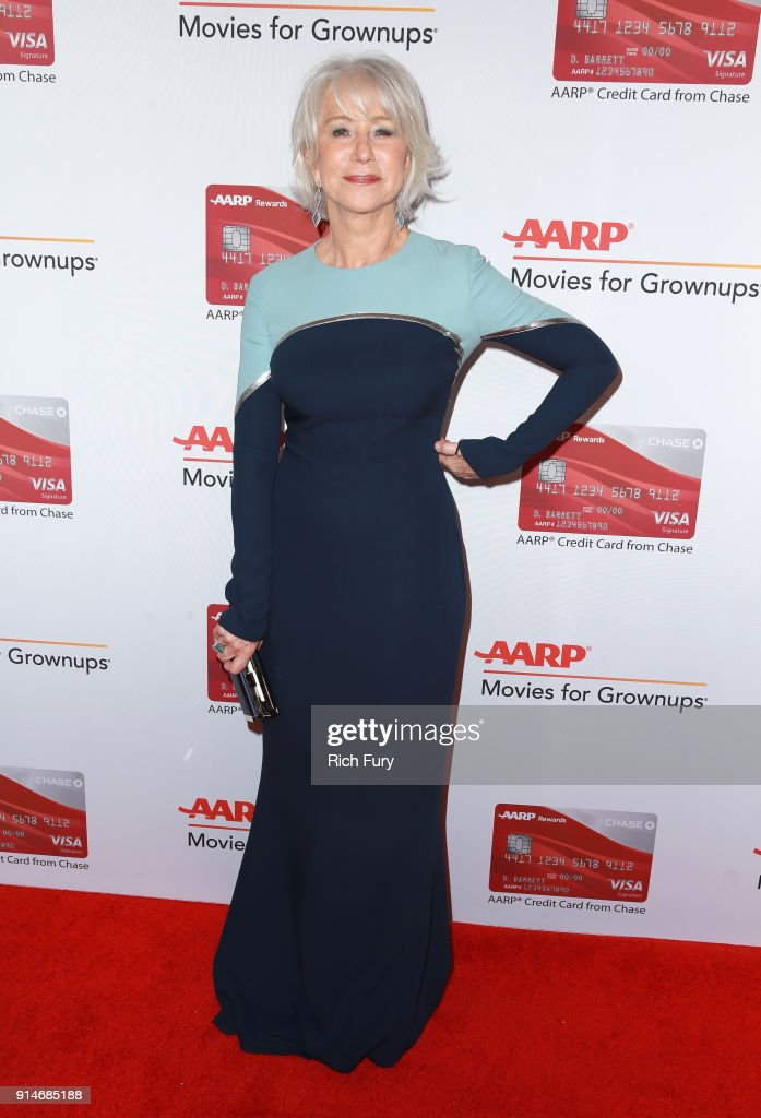 Honoree Helen Mirren attends AARP's 17th Annual Movies For Grownups Awards at the Beverly Wilshire Four Seasons Hotel on February 5, 2018 in Beverly Hills, California.