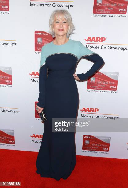 Honoree Helen Mirren attends AARP's 17th Annual Movies For Grownups Awards at the Beverly Wilshire Four Seasons Hotel on February 5 2018 in Beverly...
