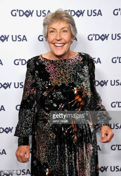 Honoree Helen Reddy attends the 2019 G'Day USA Gala at 3LABS on January 26, 2019 in Culver City, California.