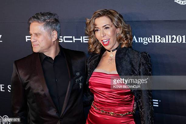 Honoree Heloise Pratt and Jon Stevens attend the 2016 Angel Ball hosted by Gabrielle's Angel Foundation For Cancer Research on November 21 2016 in...