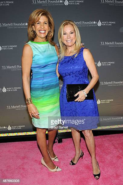 Honoree Hoda Kotb and Kathie Lee Gifford attend the TJ Martell Foundation's Women of Influence Awards on May 1 2014 in New York City