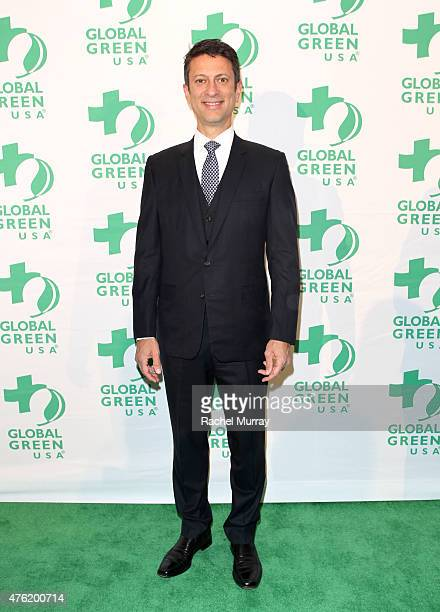 Honoree Ibrahim AlHusseini attends the Global Green USA 19th Annual Millennium Awards on June 6 2015 in Century City California