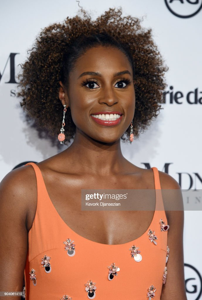 Honoree Issa Rae attends the Marie Claire's Image Makers Awards 2018 at Delilah LA on January 11, 2018 in West Hollywood, California.