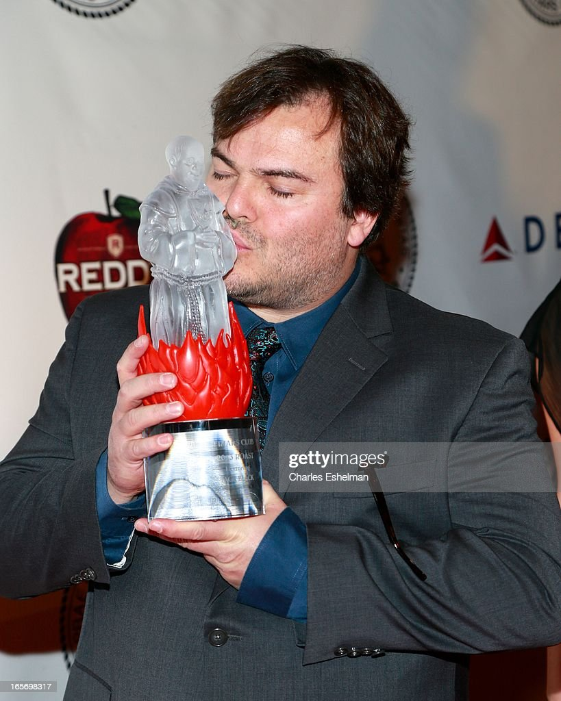 Honoree Jack Black attends The Friars Club Roast Honors Jack Black at New York Hilton and Towers on April 5, 2013 in New York City.
