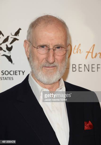 Honoree James Cromwell attends the Humane Society of The United States 60th Anniversary Gala at The Beverly Hilton Hotel on March 29 2014 in Beverly...