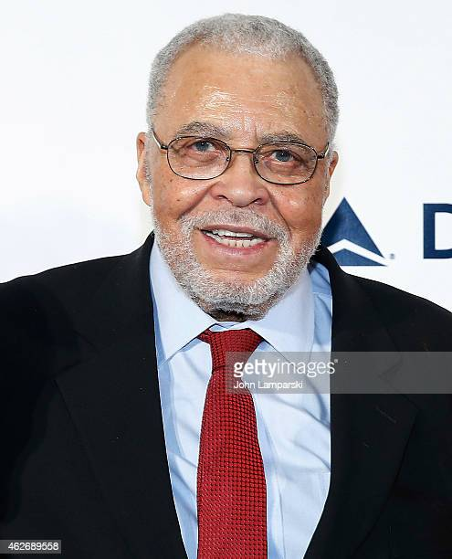 Honoree James Earl Jones attends The Drama League's 31st Annual Musical Celebration Of Broadway at The Pierre Hotel on February 2 2015 in New York...