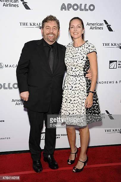 Honoree James L Dolan and wife Kristin Dolan attend The Apollo Theater's 10th Annual Spring Gala at The Apollo Theater on June 8 2015 in New York City