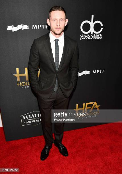 Honoree Jamie Bell attends the 21st Annual Hollywood Film Awards at The Beverly Hilton Hotel on November 5 2017 in Beverly Hills California