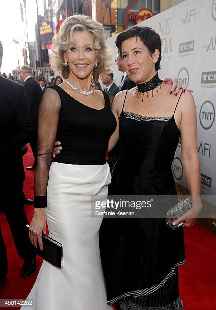 Honoree Jane Fonda and director/producer Vanessa Vadim attend the 2014 AFI Life Achievement Award A Tribute to Jane Fonda at the Dolby Theatre on...
