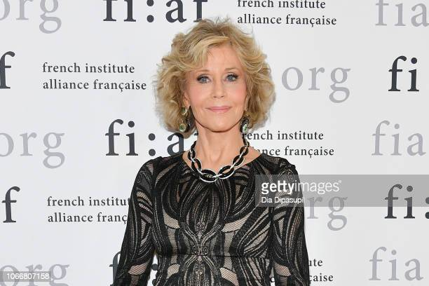 Honoree Jane Fonda attends the 2018 Trophee des Arts Gala at The Plaza Hotel on November 12 2018 in New York City