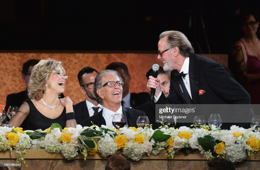 Honoree Jane Fonda, record producer Richard Perry and actor Peter Fonda attend the 2014 AFI Life Achievement Award: A Tribute to Jane Fonda at the Dolby Theatre on June 5, 2014 in Hollywood, California. Tribute show airing Saturday, June 14, 2014 at 9pm ET/PT on TNT.