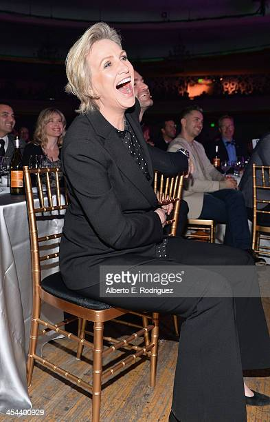 Honoree Jane Lynch attends 'TrevorLIVE LA' honoring Jane Lynch and Toyota for the Trevor Project at Hollywood Palladium on December 8 2013 in...