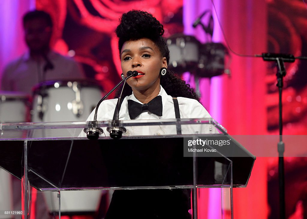 Honoree Janelle Monae attends the AltaMed Power Up, We Are The Future Gala at the Beverly Wilshire Four Seasons Hotel on May 12, 2016 in Beverly Hills, California.