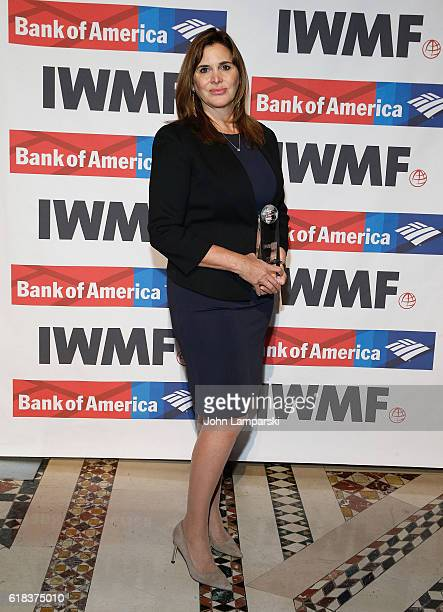 Honoree Janine di Giovani attends 27th Annual Courage in Journalism Awards Ceremony at Cipriani 42nd Street on October 26 2016 in New York City