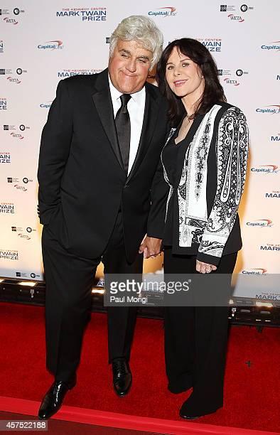 Honoree Jay Leno and his wife Mavis Leno arrive at the 2014 Kennedy Center's Mark Twain Prize For American Humor honoring Jay Leno at The Kennedy...