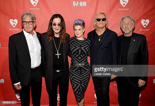 Honoree Jeff Greenberg musician Ozzy Osbourne TV personality Kelly Osbourne musician Joe Walsh and National Academy of Recording Arts and Sciences...