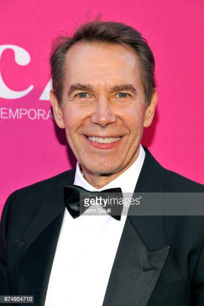 Honoree Jeff Koons at the MOCA Gala 2017 honoring Jeff Koons at The Geffen Contemporary at MOCA on April 29 2017 in Los Angeles California