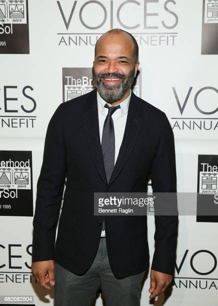 Honoree Jeffrey Wright poses for a picture during the Brotherhood/Sister Sol 2017 Gala at Gotham Hall on May 11 2017 in New York City
