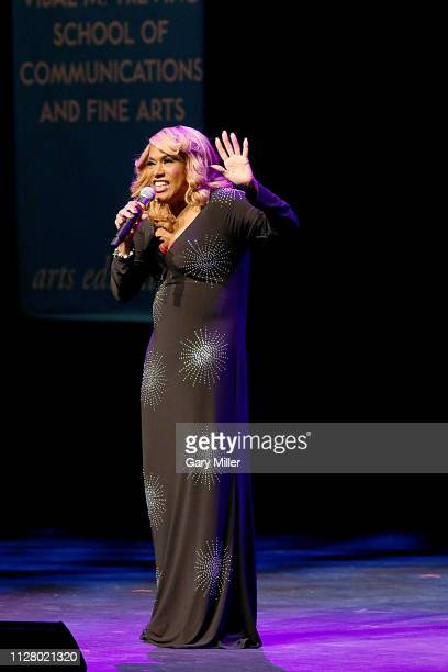 Honoree Jennifer Holliday performss on stage during the Texas Medal Of Arts Awards at the Long Center for the Performing Arts on February 27 2019 in...
