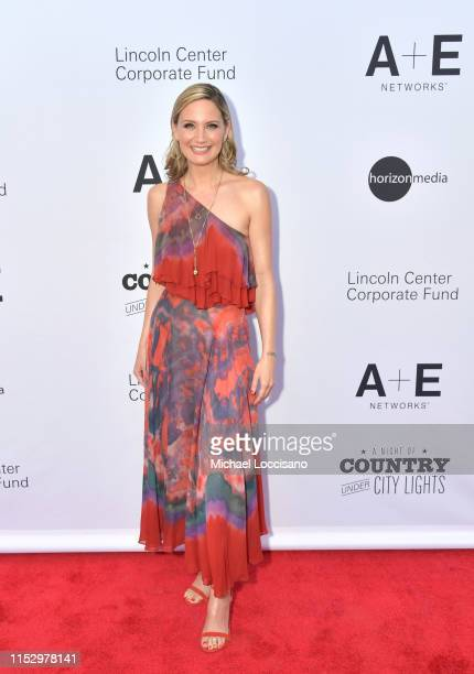 Honoree Jennifer Nettles, recipient of Lincoln Center Corporate Fund's Artist Impact Award, attends the Night Of Country Under City Lights at Alice...