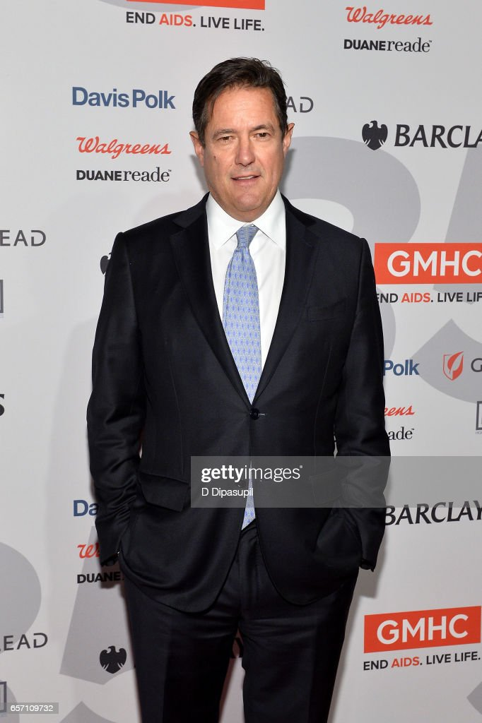 Honoree Jes Staley attends the GMHC 35th Anniversary Spring Gala at Highline Stages on March 23, 2017 in New York City.