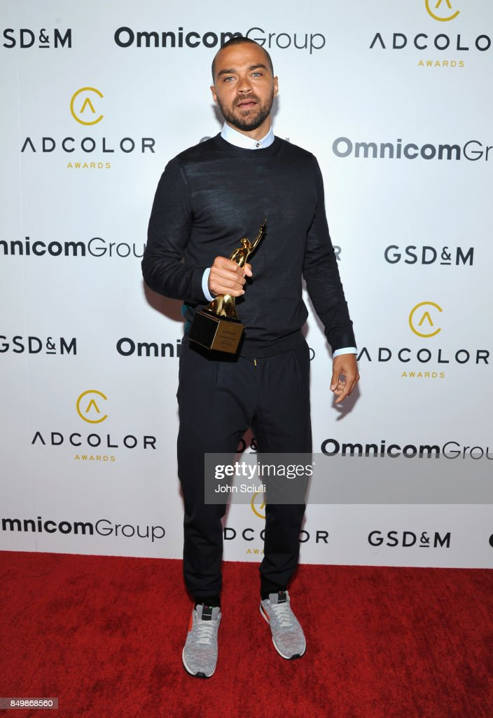 Honoree Jesse Williams attends the 11th Annual ADCOLOR Awards at Loews Hollywood Hotel on September 19, 2017 in Hollywood, California.