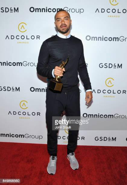 Honoree Jesse Williams attends the 11th Annual ADCOLOR Awards at Loews Hollywood Hotel on September 19 2017 in Hollywood California