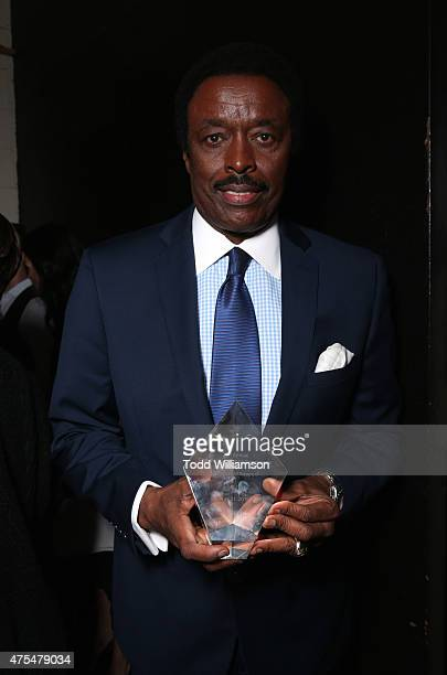 Honoree Jim Hill attends the 2015 CedarsSinai Sports Spectacular at the Hyatt Regency Century Plaza on May 31 2015 in Century City California