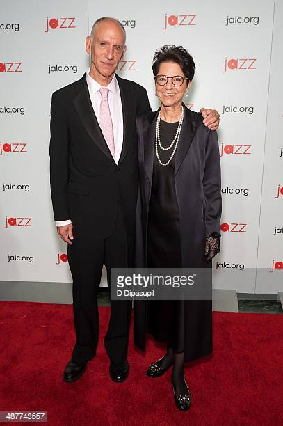 Honoree John Arnhold and wife Jody Arnhold attend the 2014 Jazz at Lincoln Center Gala hosted by Billy Crystal at Time Warner Center on May 1 2014 in...