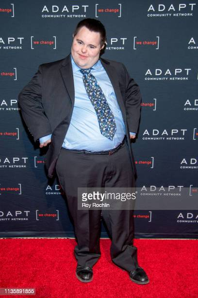 Honoree John Cronin attends the 2019 Adapt Leadership Awards at Cipriani 42nd Street on March 14 2019 in New York City