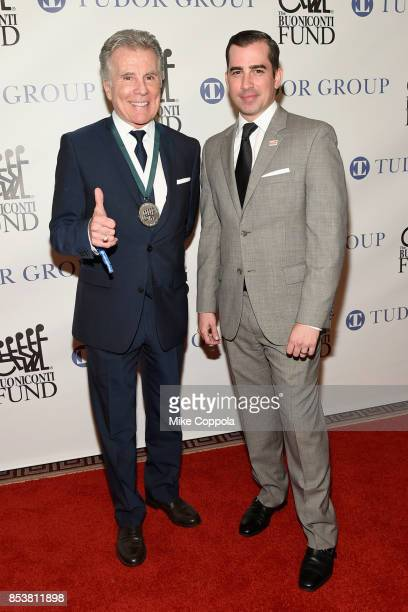 Honoree John Walsh and Callahan Walsh attend the 32nd Annual Great Sports Legends Dinner To Benefit The Miami Project/Buoniconti Fund To Cure...