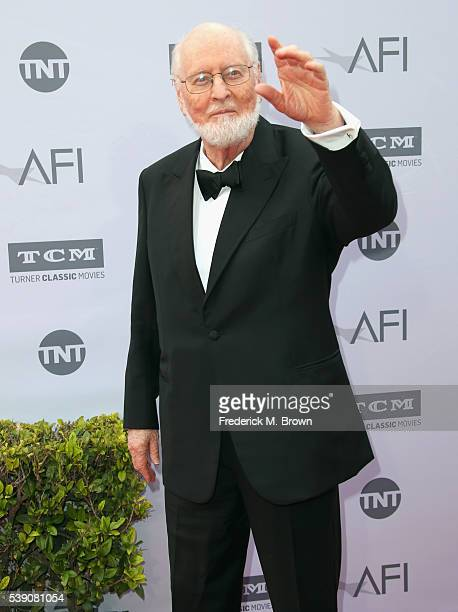 Honoree John Williams arrives at the American Film Institute's 44th Life Achievement Award Gala Tribute to John Williams at Dolby Theatre on June 9,...
