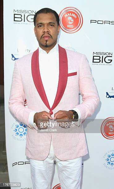 Honoree Johnny Nunez attends the 2nd annual Compund Foundation Fostering A Legacy Benefit on August 17 2013 in East Hampton New York