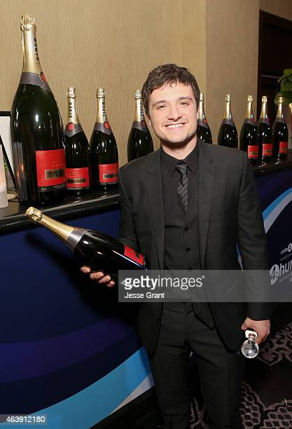 Honoree Josh Hutcherson attends the 2nd Annual unite4humanity presented by ALCATEL ONETOUCH at the Beverly Hilton Hotel on February 19 2015 in Los...