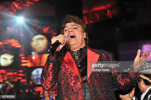 Honoree Juan Gabriel performs onstage at the 2009 Person Of The Year Honoring Juan Gabriel at Mandalay Bay Events Center on November 4 2009 in Las...
