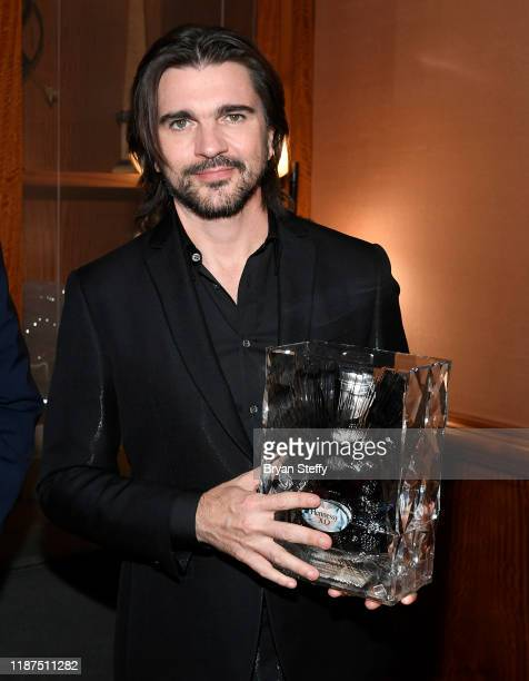 Honoree Juanes attends the Latin Recording Academy's 2019 Person of the Year gala honoring Juanes at the Premier Ballroom at MGM Grand Hotel Casino...