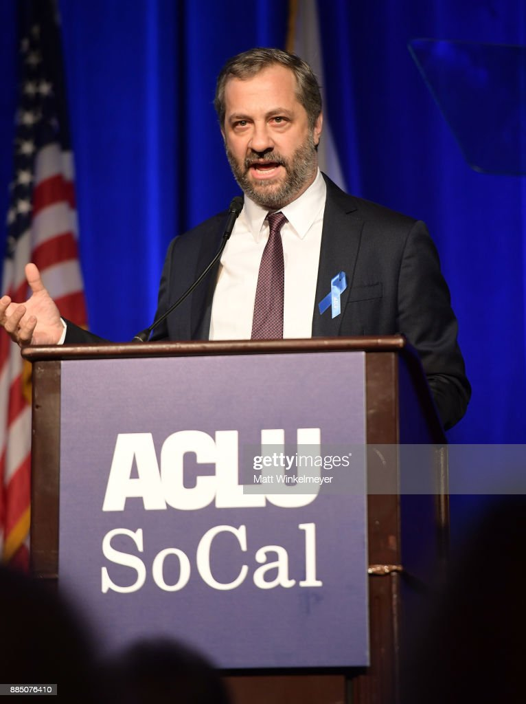 Honoree Judd Apatow speaks onstage at ACLU SoCal Hosts Annual Bill of Rights Dinner at the Beverly Wilshire Four Seasons Hotel on December 3, 2017 in Beverly Hills, California.