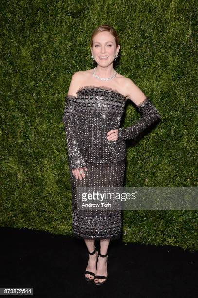 Honoree Julianne Moore attends The Museum of Modern Art Film Benefit presented by CHANEL A Tribute to Julianne Moore at MOMA on November 13 2017 in...